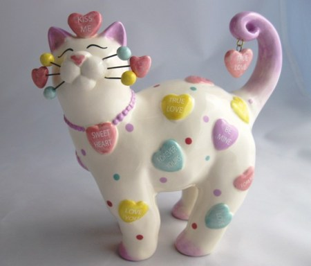 "Ceramic Cat ""Kandy"""