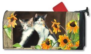 Calico Kitties Mailbox Coverr