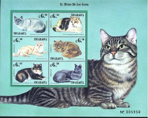 Cat Stamps from Nicaraqua