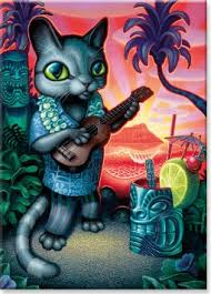 Tiki Cat Art