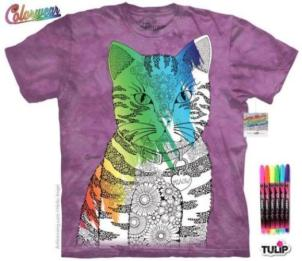 Mountain Colorwear Tee, Miaow Cat, 2a