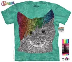 Mountain Colorwear Tee, Missy Cat, 2a